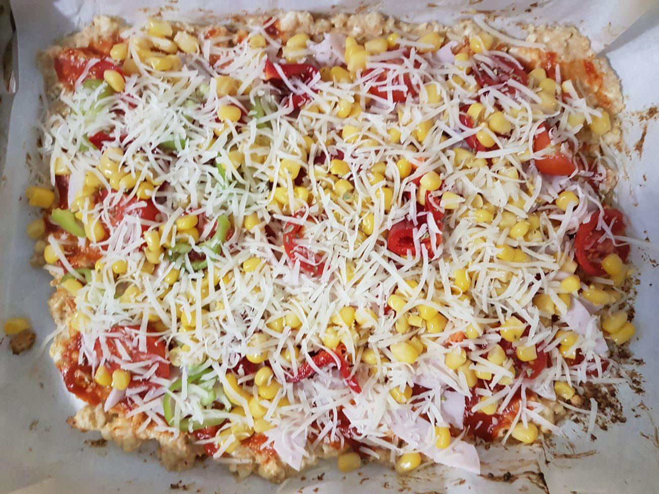 recepte diéta pizza készítéséheza