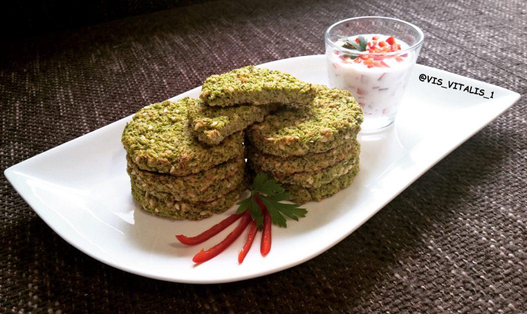 Diétás brokkoli fasírt