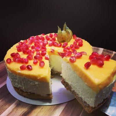 Gluténmentes citromos torta
