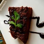 Diétás céklás brownie